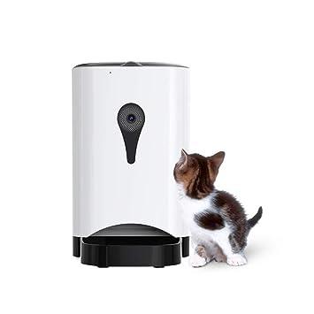Alimentador Automático Del Animal Doméstico 4.3 L Para Los Perros Y Los Gatos, Hasta 4