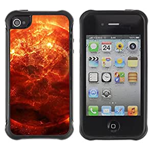 CAZZ Rugged Armor Slim Protection Case Cover Shell // Space Planet Galaxy Stars 28 // Apple Iphone 4 / 4S