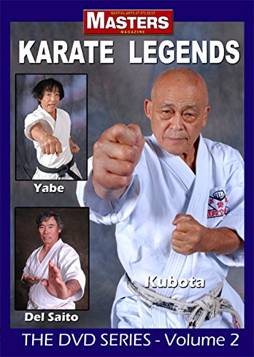 KARATE LEGENDS Vol-2 KUBOTA - YABE – DEL SAITO
