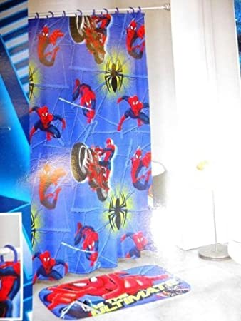 Marvel Spiderman 14 Piece Bath Set