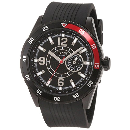 ESPRIT Men's ES104131003 Varsity Red Analog Watch