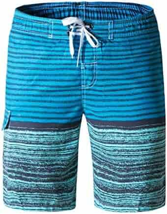 2519e84b5191f Simayixx Sport Clothes Men's Summer Swimming Shorts Beach Board Shorts  Trunks Teens Briefs Short Pants Surfing