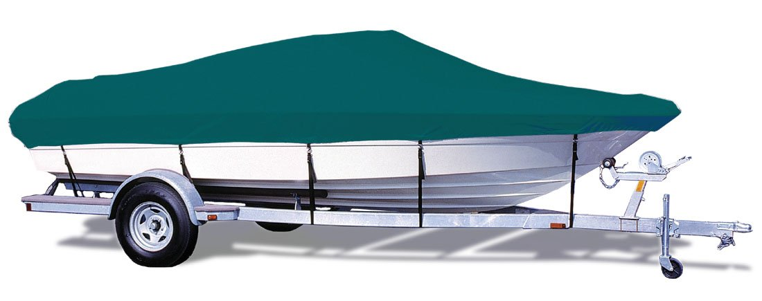 TAYLOR MADE PRODUCTS Trailerite Semi-Custom Boat Cover for V-Hull Runabout Boats with Outboard Motor