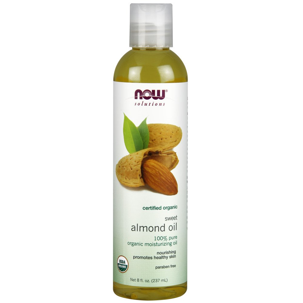 NOW Solutions Organic Almond 8 Ounce Image 2