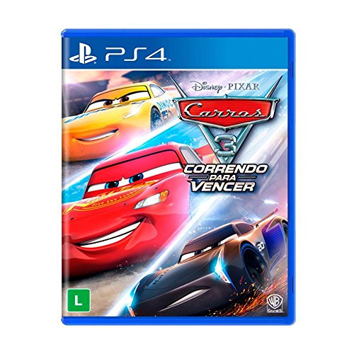Carros 3 Correndo para Vencer - 2017 - PlayStation 4