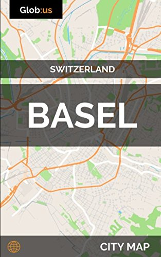 Basel, Switzerland - City Map
