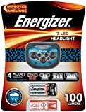 Energizer Trail Finder Pro 7 LED Headlamp, Blue/Black, 3AAA Batteries Included