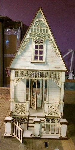 Dollhouse Miniature Little Anne Victorian Cottage Kit - 1