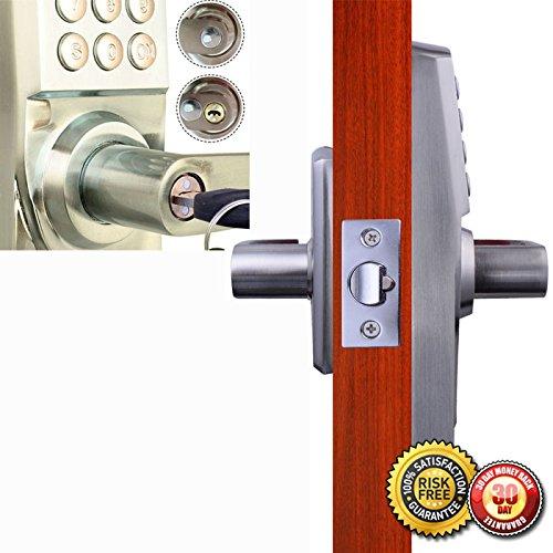 New Digital Electronic Code Keyless Keypad Security Entry