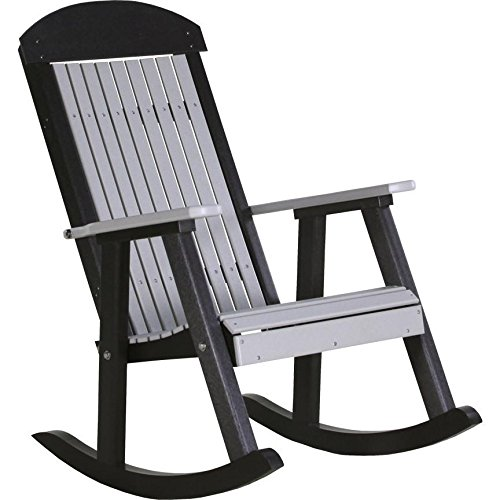 Cheap LuxCraft Classic Traditional Recycled Plastic Rocking Chair