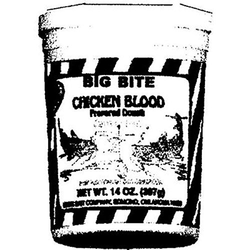 Magic 11-12 Big Bite Chicken Blood Catfish Bait