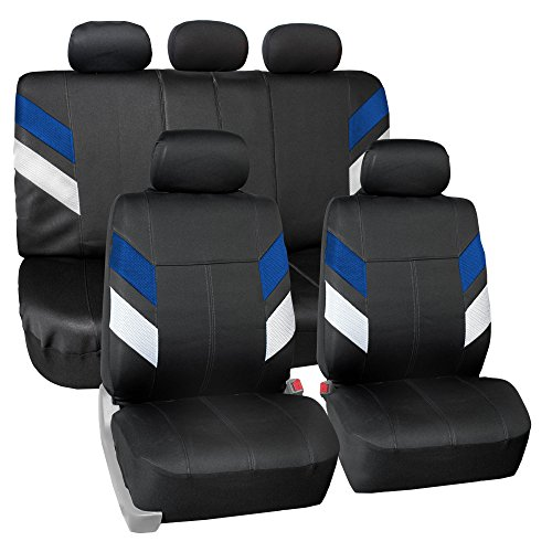 cobalt leather seat covers - 7