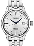 Seiko Men's Presage Automatic Cocktail Time White Dial Dress Watch - Model: SRPB77