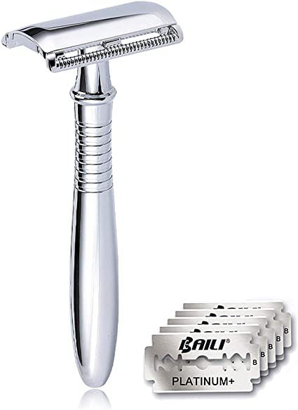 Amazon.com: BAILI BD191 - Maquinilla de afeitar de doble ...