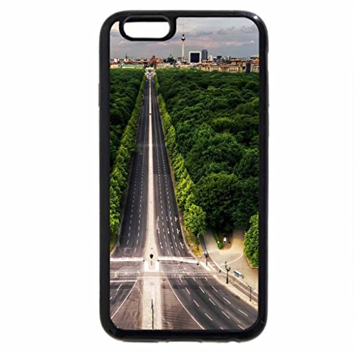 iPhone 6S / iPhone 6 Case (Black) highway to the city