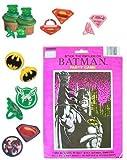 24 DC Super Hero Cupcake Rings with Batman Party Game – DC Super Hero Bundle, Health Care Stuffs