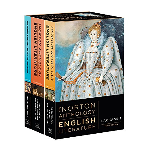 The Norton Anthology of English Literature (Tenth Edition)  (Vol. Package 1: Volumes A, B, C) by W. W. Norton & Company