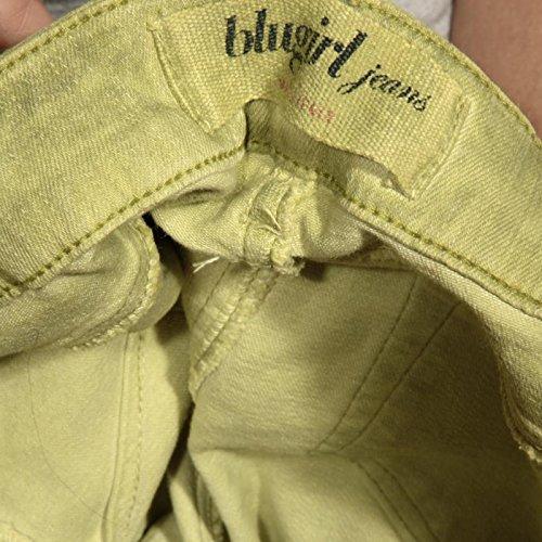 Trousers Verde Donna 5 Jeans 83014 Blumarine Tasche Women Pantaloni Lunghi Blugirl qn8wfaFf