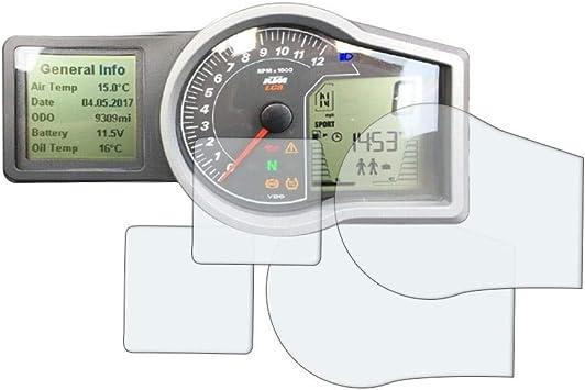 Speedo Angels Displayschutzfolie Tachoschutzfolie Für Adventure 1050 1090 1190 2 X Ultra Klar Auto