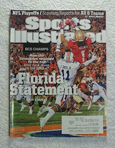 Kevin Benjamin - Florida State Seminoles - 2013 National Champions! - Sports Illustrated - January 13, 2014 - Auburn Tigers (Chris Davis) - College Football - BCS Championship - SI - Sports Fsu