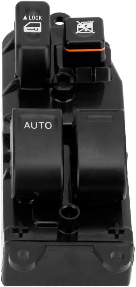 commutateur de fen/être principale en plastique ABS pour RAV4 2001-2009 pour RAV4 Camry Sienna 2001-2009 Gorgeri Bouton Leve Vitre Interrupteur de vitre /électrique