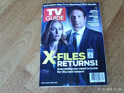 TV Guide (January 18-31, 2016 - X-Files Returns) (Vet Grinder)