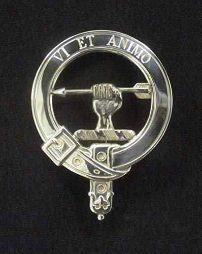 Amazon com: McCullough Scottish Clan Crest Badge in Solid