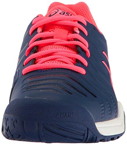 Silver ASICS Challenger Gel Pink M 6 Tennis Blue US Women's Indigo Shoe 11 Diva rrAcBWf
