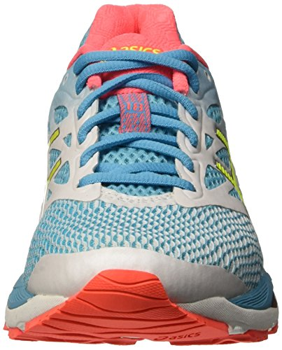 Azul Atoll white Running Zapatillas Blue W Yellow Safety 18 Para Gel cumulus Mujer De Asics qfw6zz