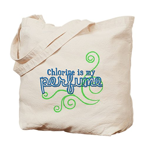 CafePress–Cloro es mi Perfume (3des–Gamuza de bolsa de lona bolsa, bolsa de la compra Small caqui