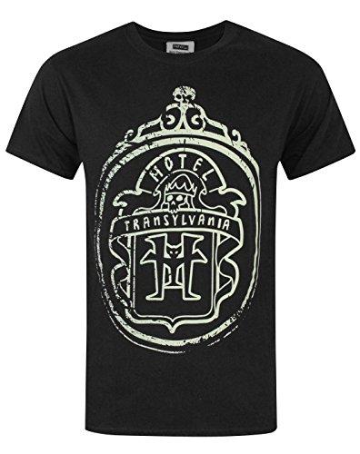Hotel Transylvania 3 Movie Logo Glow In The Dark Men's T-Shirt (M) for $<!--$9.99-->