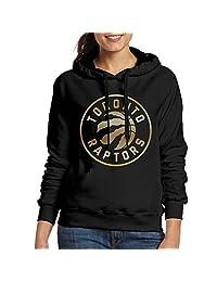 Toronto Raptors Gold Logo Women's Hoodie