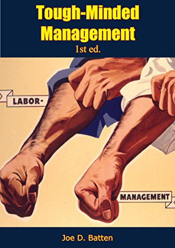 Tough-Minded Management 1st ed.