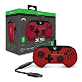 Hyperkin X91 Controller - Red - Xbox One and Windows 10