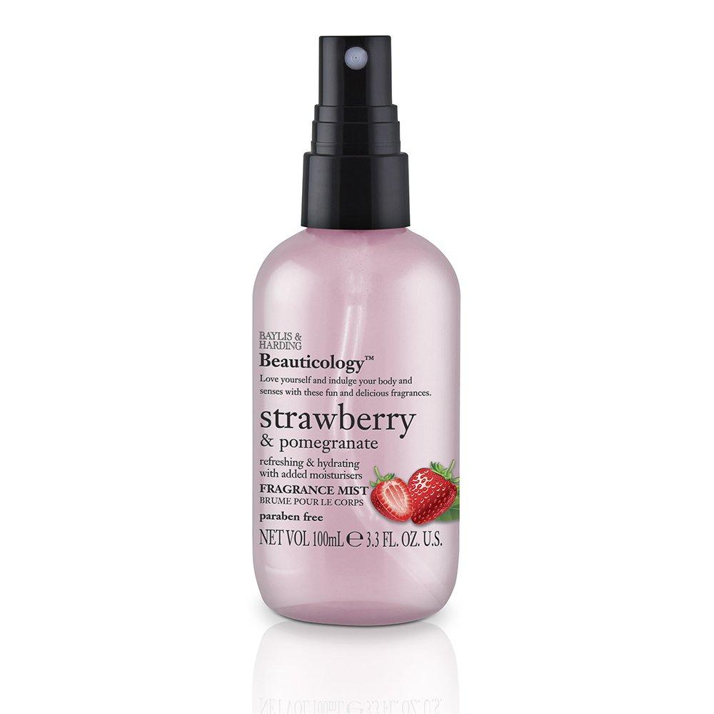 Baylis & Harding Beauticology Strawberry and Pomegranate Fragrance Mist Bottle, 100 ml, Pack of 6 BCFMSP