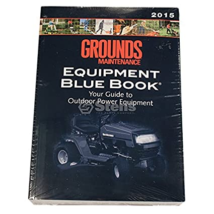 Stens 755 - 358 libro de mantenimiento de terrenos azul, da Trade ...
