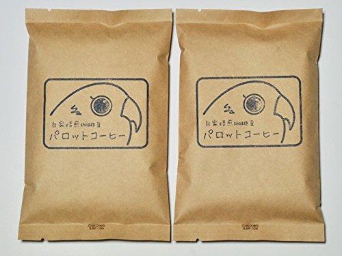 Parrot coffee Sulawesi Tana Toraja coffee beans (200g / medium-fine grind)