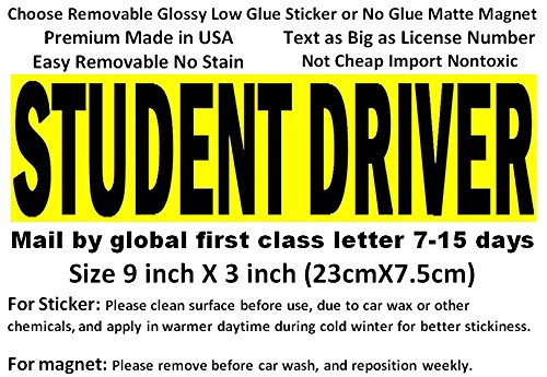 Student Magnets Variety Premium Reflective