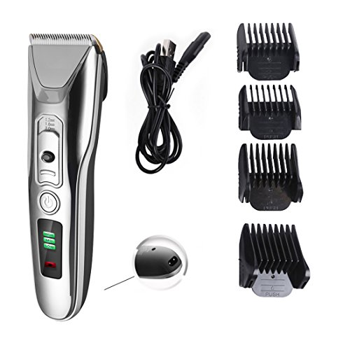 Professional Hair Clippers Hair Trimmer LED Display Hair Cutting, USB Rechargeable Haircut All in One Grooming Kit, for Men and Boys, Kids