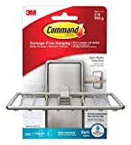 Tools & Hardware : Command Soap Dish, Satin Nickel, 1-Soap Dish (BATH34-SN-ES)