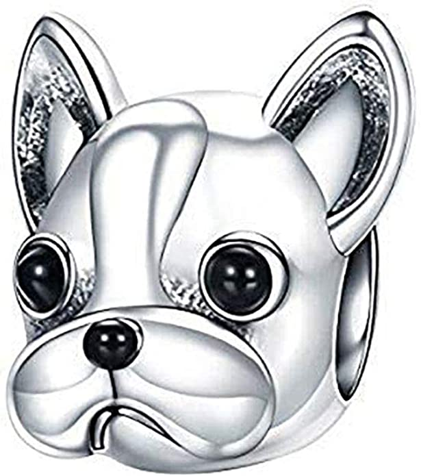 Details about  /Emerald Ruby French Bulldog Dog Pet Pendant Superb Quality Sterling Silver
