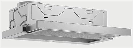 Campana extractora telescópica Bosch DFM064W52 60 cm, 400 m3/h, 3 velocidades, silenciosa: Amazon.es: Grandes electrodomésticos