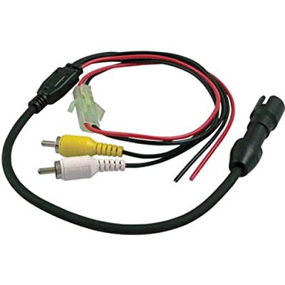 Voyager 31300006 Camera Connector, 4-pin Female Camera Adapter to RCA Connectors with Power, Used to Tie The Camera Into Multi-plexing Systems and/or Video and Digital Recorders: Automotive