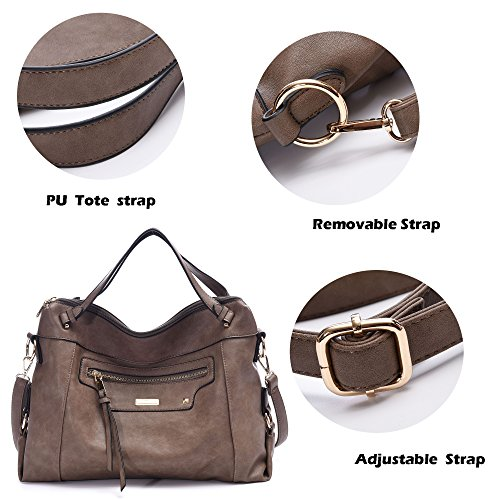 Fall Shoulder SALE Purses Classic BIG For Grey A001 Winter Hobo Shop Bags Work Meeting Leather Handbags Vintage Women Crossbody Bags Wine OqwdxSfqpz