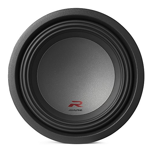 Alpine Type R 12 Inch 2250 Watt Max 2 Ohm Round Car Audio Subwoofer | R-W12D2