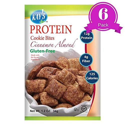 Kays Naturals Protein Cookie Bites - Cinnamon Almond - (Case of 6-1.2 oz)