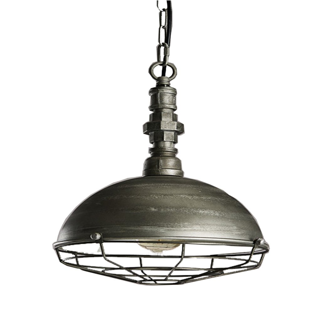 Amazon.com: Lámpara De Una Sola Cabeza De Hierro Forjado De Estilo Europeo, Personalidad Creativa Lámpara De Cuerpo De Hierro De Viento Industrial, ...