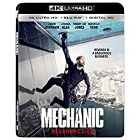 Mechanic Resurrection 4K Blu-ray Deals