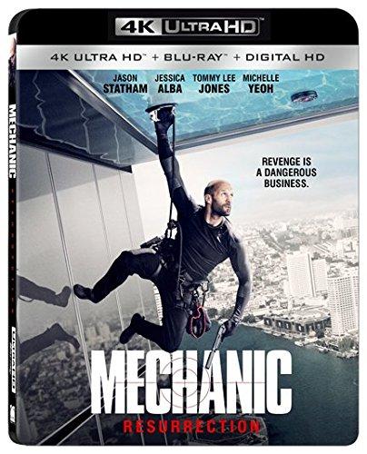 4K Blu-ray : Mechanic Resurrection (With Blu-Ray, 4K Mastering, 2 Pack, 2 Disc)