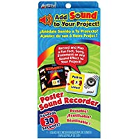 ArtSkills Poster Sound Recorder, 1 30 Second Recorder (PA-1482)